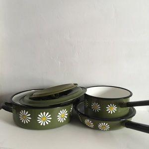 Other - Mid-century Modern Pots & Pan Set - Polish